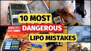 10 Worst mistakes for a Lipo Battery