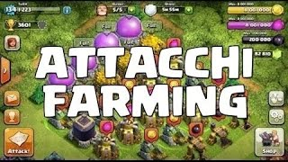 Clash Of Clans- ITA: Top 5 Attacchi Farming #3