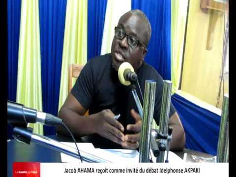 Jacob AHAMA reçoit comme invité du débat par Idelphonse AKPAKI