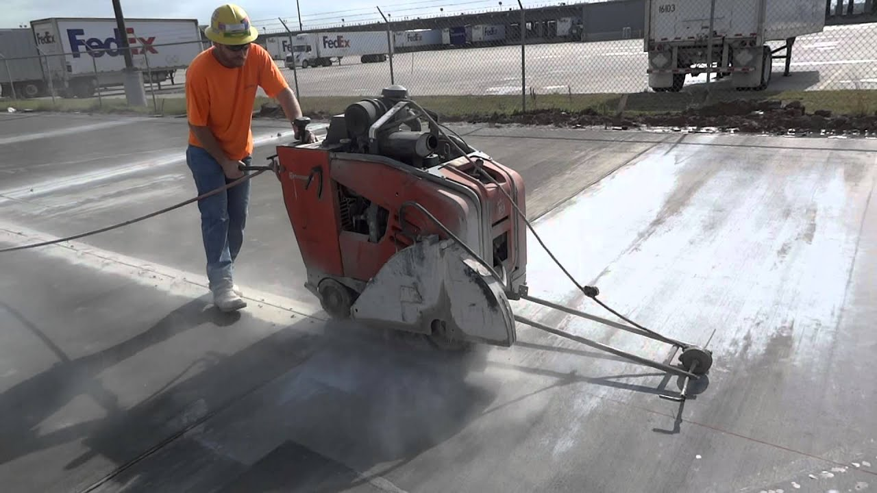 Houston Sawing and Drilling | Concrete Cutting in Houston, TX