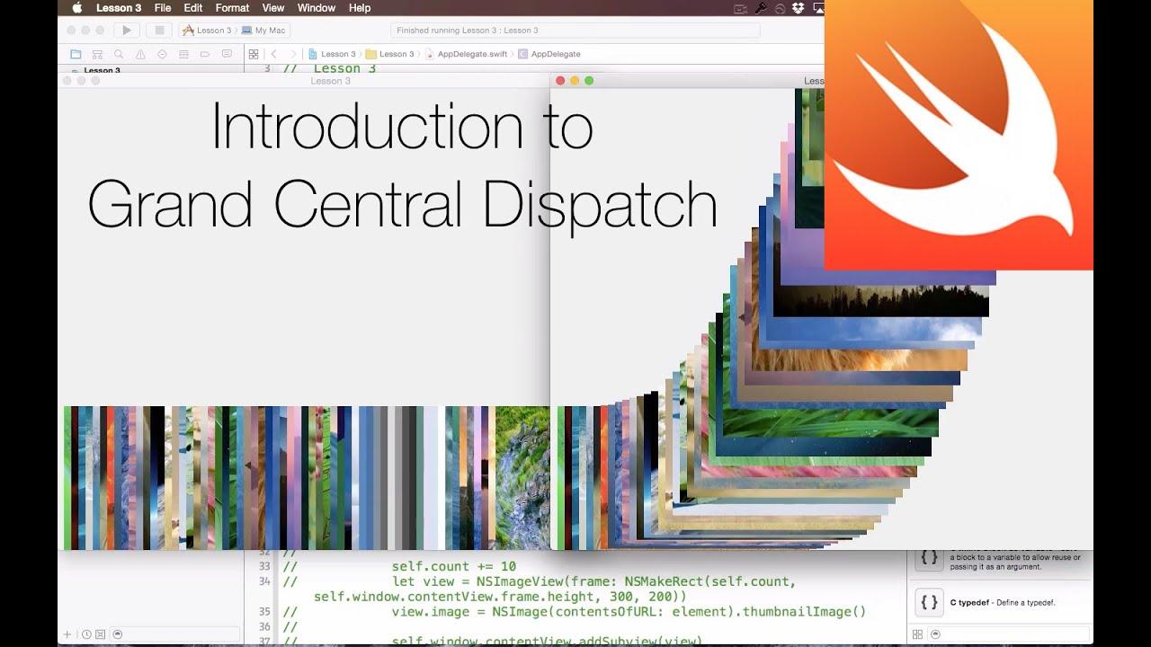 Cocoa Concurrency L3 - Grand Central Dispatch (GCD)