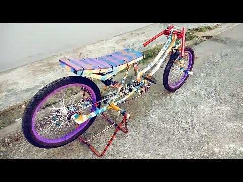 Gambar Modifikasi Sepeda Ontel Drag Modifikasi Sepeda Drag Youtube