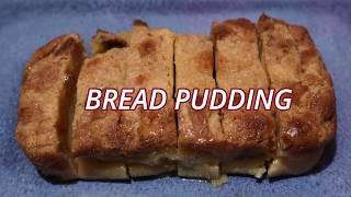 How to make a Pinoy Style BREAD PUDDING  Sarap Pinoy Recipes