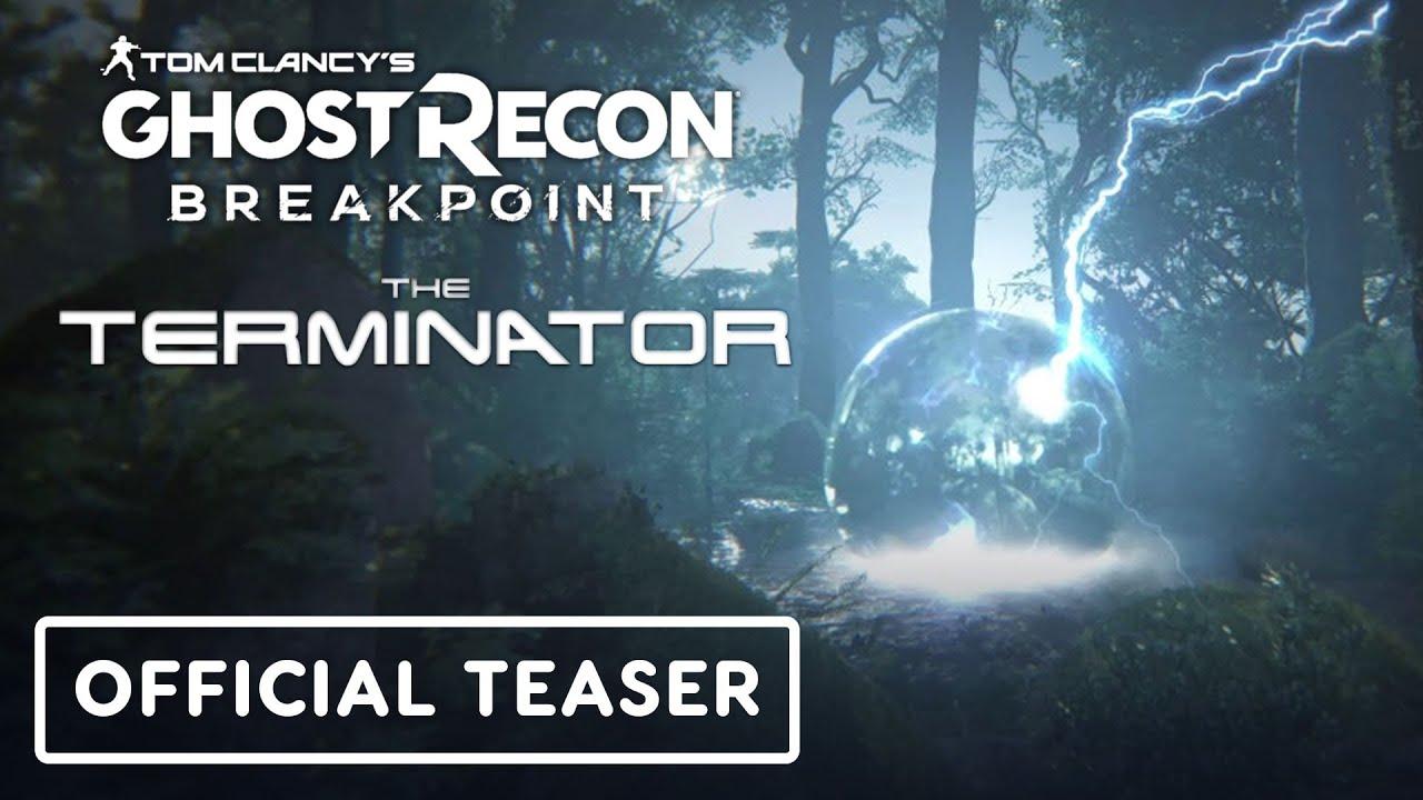 Tom Clancy's Ghost Recon Breakpoint - Trailer oficial do Exterminador do Futuro + vídeo
