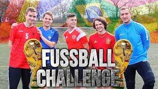 XXL WM 2018 FUßBALL CHALLENGES vs LUKASFOOTBALL