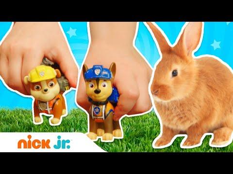 Щенячий патруль справляется с побегом пушистых кроликов | Ферма игрушек | Nick Jr. Россия