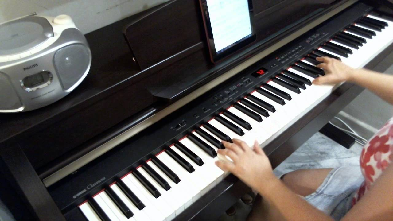 How to play learn be lonely on piano