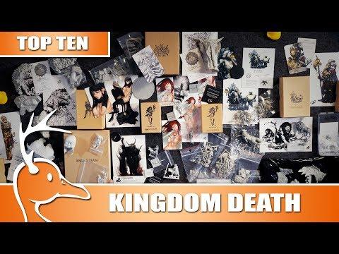 Top 10 Rarest Kingdom Death Models - (Quackalope Games)