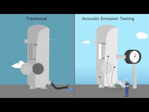 Acoustic Emission Testing – A cost-saving method to inspect pressure vessels
