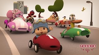 Repeat youtube video Pocoyo & Cars: ¡La Gran Carrera! [especial 20 minutos]