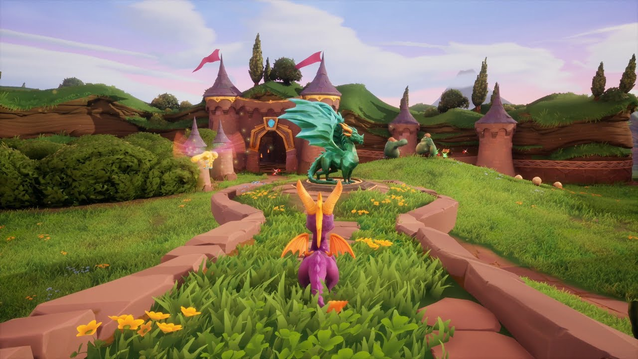 Download Spyro The Dragon: Reignited Trilogy - 1st 30 Minutes of Gameplay   PS4 Pro (4k 60fps)