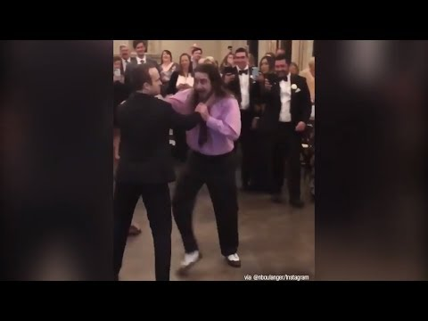 Shannon The Dude - WWE-Style Fight Breaks Out At Wedding