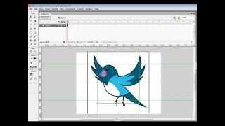 Make Animation Flying Bird With Flash
