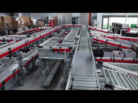 Production and logistics center with milk run system at GEMÜ