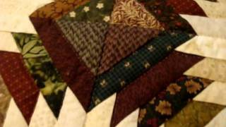 Dutchcrafters Amish Hand Quilted Pineapple Quilt