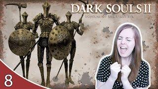 ANNOYING RUIN SENTINEL BOSS! Dark Souls 2 Gameplay Walkthrough Part 8