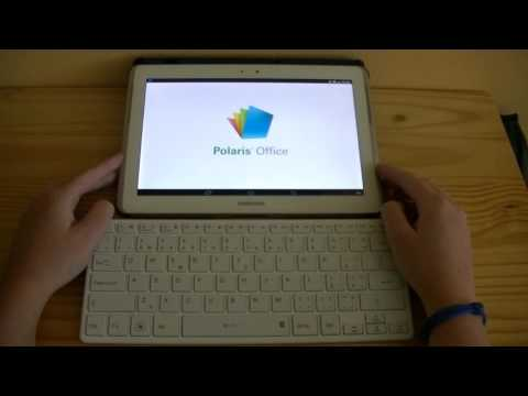 How to connect bluetooth keyboard for android - evolveo wk29w, samsung galaxy tab 2