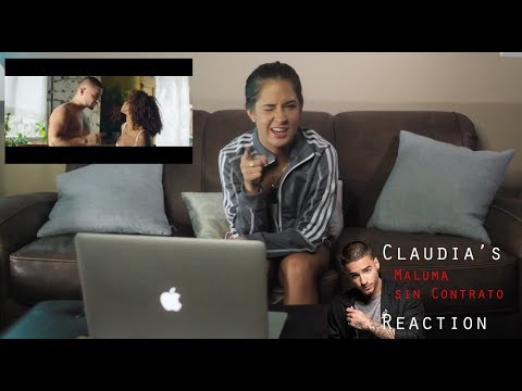 Sin Contrato by Maluma Official Best Reaction Video