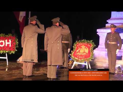 RANCAGUA TV ► No Comemtado: Conmemoración 201 años de la Batalla de Rancagua