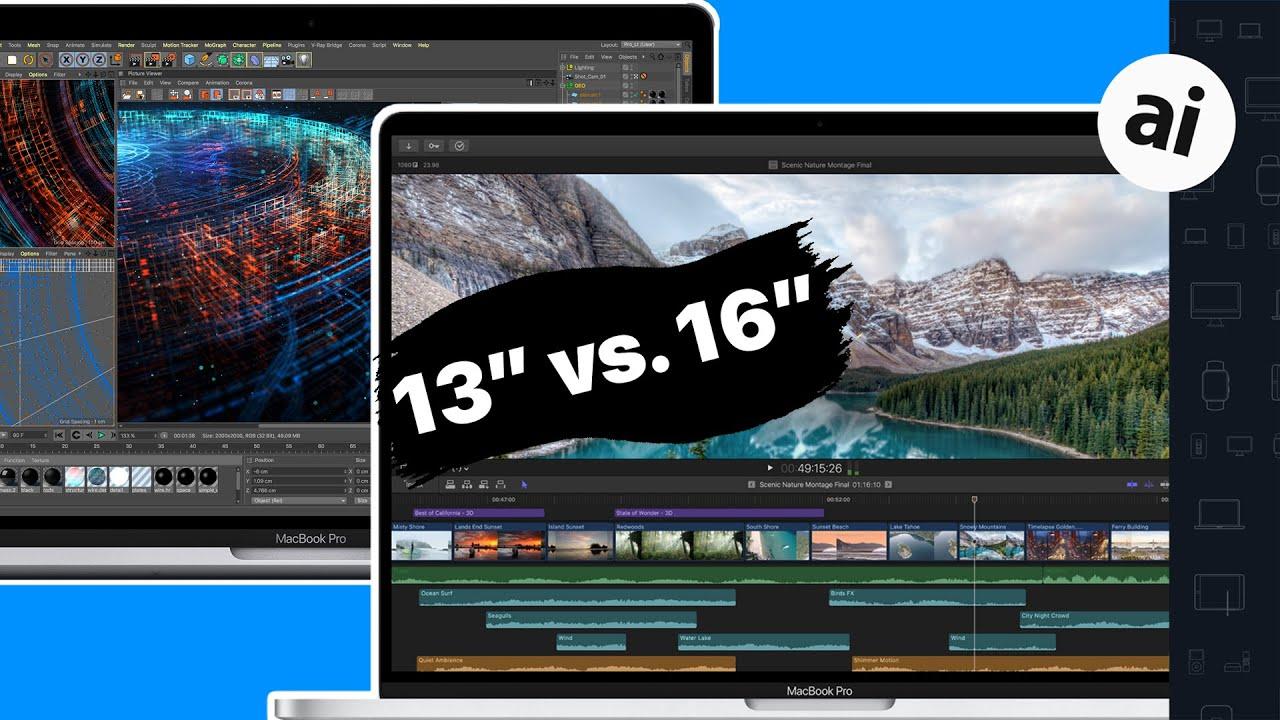 """13"""" VS 16"""" 2019 MacBook Pro -- Full Comparison!"""