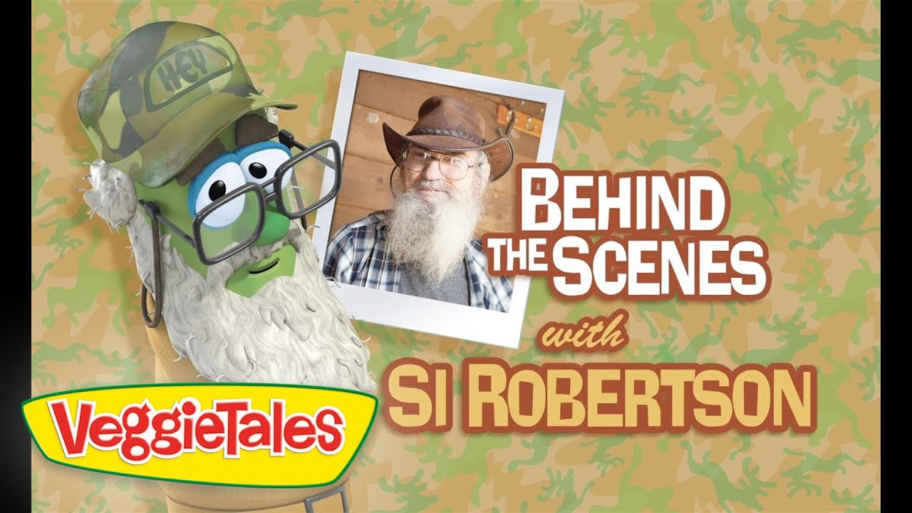 Behind the Scenes with Si Robertson
