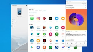 """Hands-on with the new """"Apps"""" feature in Your Phone for Windows 10"""