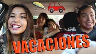COSAS QUE PASAN EN EL AUTO #2 || ESPECIAL VACACIONES