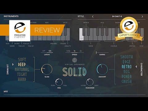 Review - UJAM Solid Virtual Drummer