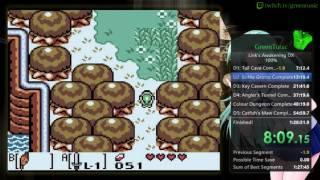 Link's Awakening DX 100% Speedrun (1:26:58)