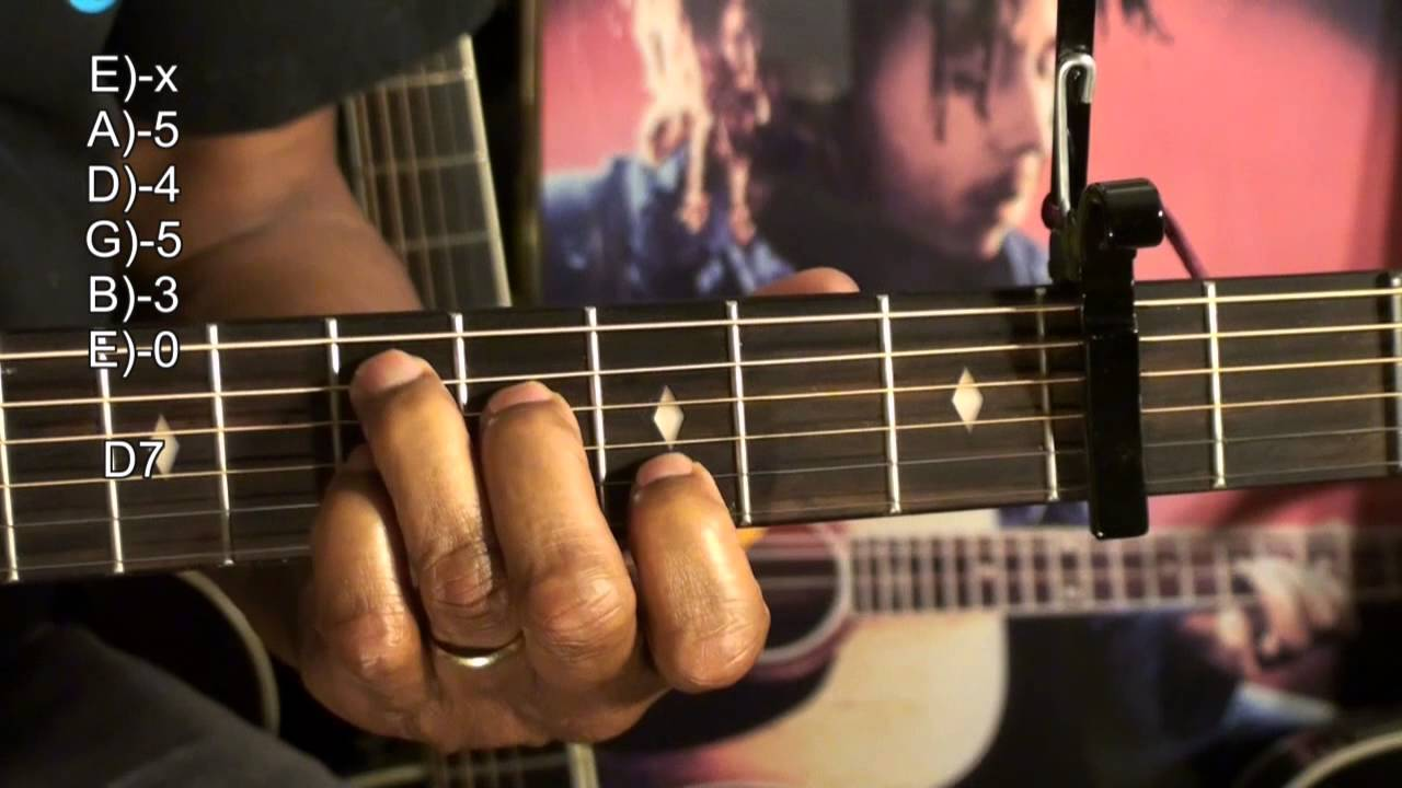 How To Play Guitar Chord Tabs Tutorial 316 Bob Marley Reggae Jammin