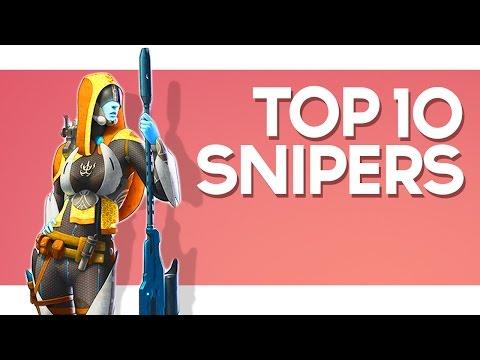 TOP 10 Sniper Rifles in Destiny!