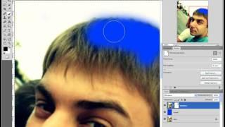 Как поменять цвет волос в Photoshop CS5