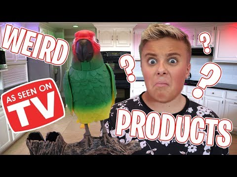 5 Weird As Seen On TV Products!!