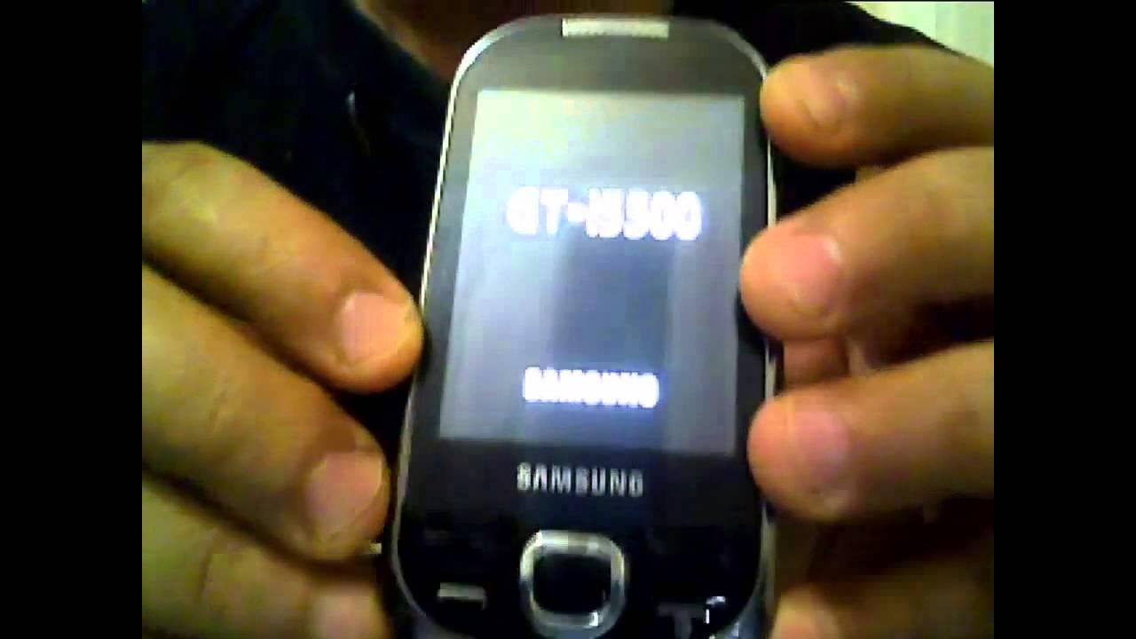 Samsung i5503 hard reset solution