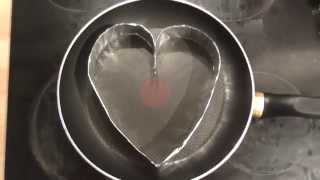 How to Make a Heart Shaped Mold with Tin Foil