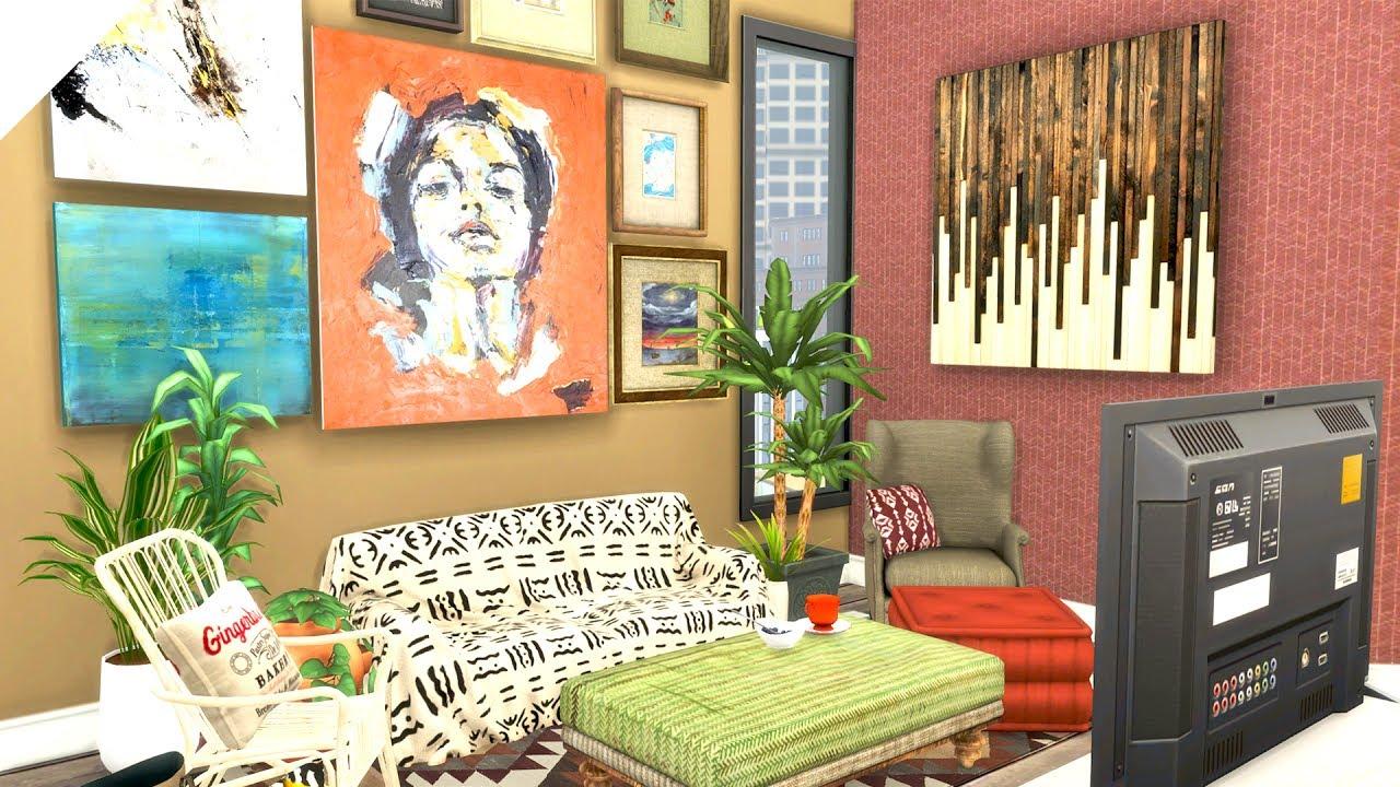 The Sims 4: Colour Me Build Series | Bohemian Single Mum ...
