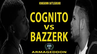 Cognito vs Bazzerk | Homegrown Battleground | Armageddon