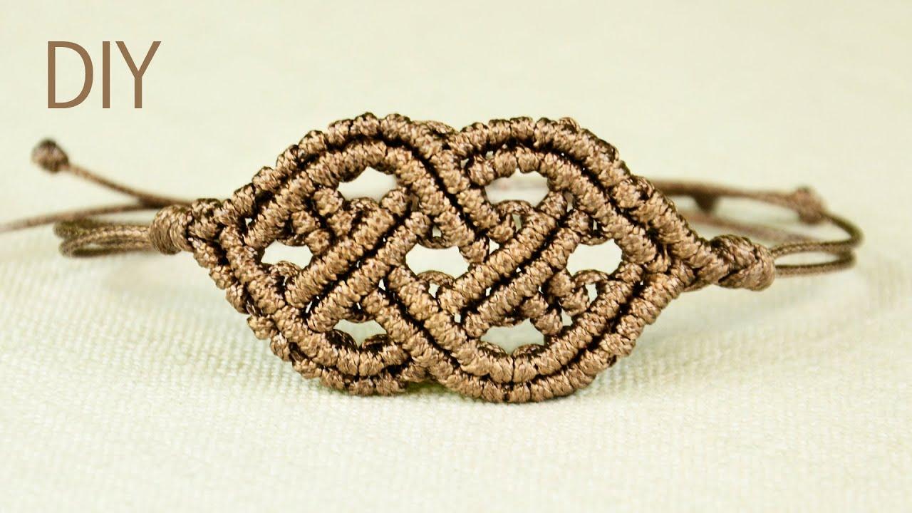 celtic style macrame bracelet youtube. Black Bedroom Furniture Sets. Home Design Ideas