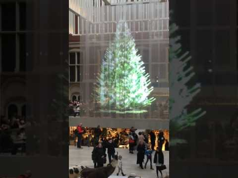 Christmas tree in the Rijksmuseum Amsterdam (classical music live) HD