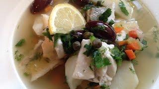 Russian Fisherman's Soup (ukha)