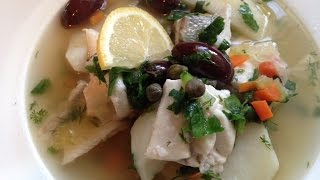 Russian Fishermans Soup (Ukha)