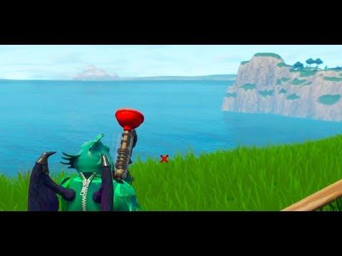 The Fortnite Iceberg And New Castle Youtube