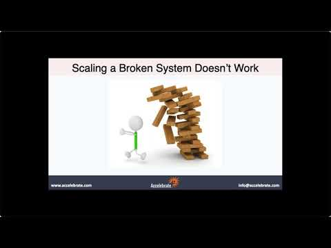 Free Agile Webinar - Scaling Agile and Scrum@Scale