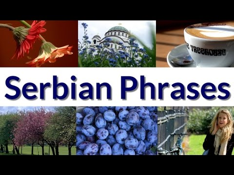 Serbian Language 365 - Day 6 Phrases in Serbian