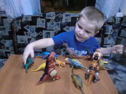 Динозавры. Мультик про динозавров. Динозаврики для мальчиков.