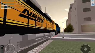 Railfanning In Rails Unlimited - Roblox