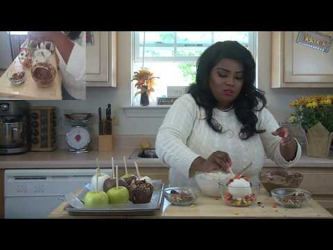 Gourmet Chocolate Covered Candy Apples