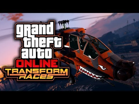 GTA ONLINE TRANSFORM RACES UPDATE - ALLE gegen den DRACHEN