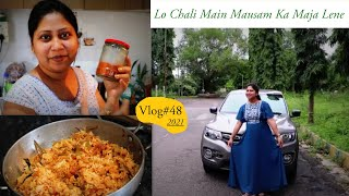 Vlog#48 | Lo Chali Main Mausam Ka Maja Lene | shrutiianand | Hindi Vlog |