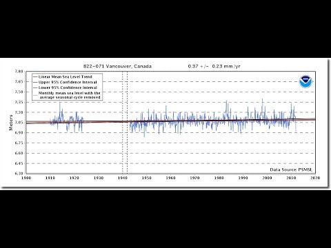 BC Green Party Leader Predicts 16 Feet Of Sea Level Rise